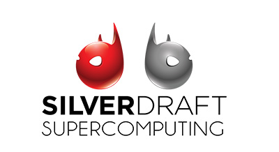 Silverdraft supercomputing logo